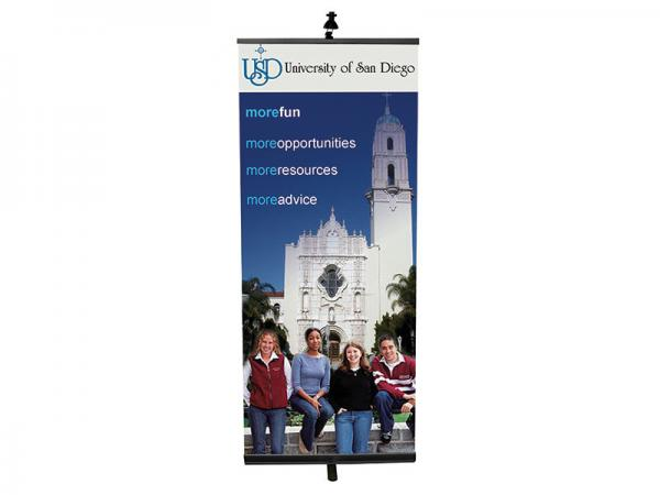 PRONTO Retractable Banner Stand - Black - Light