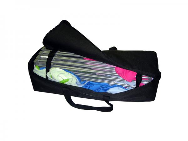 Xpressions nylon carry bag - black