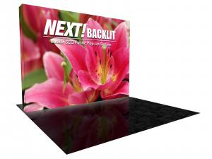 NEXT! 10 ft. Backlit Display with Radiance