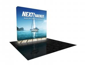 NEXT! 8 ft. Backlit Display with Radiance