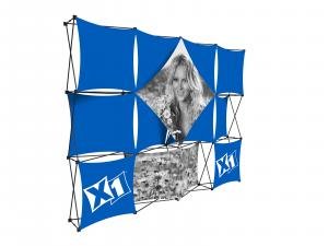 X1 10ft - 4x3 N Fabric Pop-Up Display