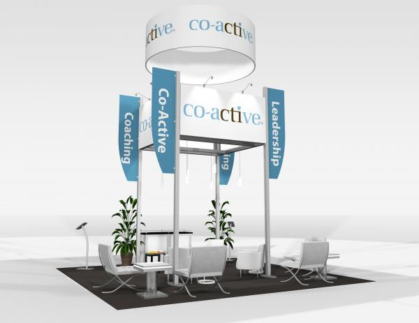 RE-9081 Co-active Trade Show Rental Exhibit -- Image 3