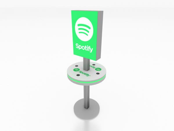 MOD-1475 Trade Show Lightbox Charging Station -- Image 1