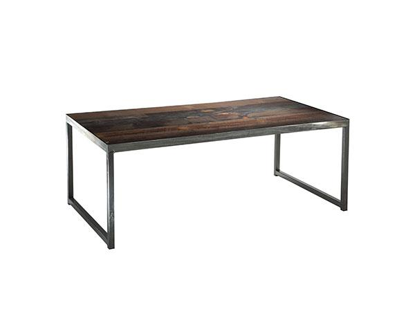Sydney Cocktail Table in Wood (CEST-026) -- Trade Show Furniture Rental