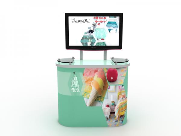 MOD-1246 Workstation/Kiosk for Trade Shows and Events -- Image 2