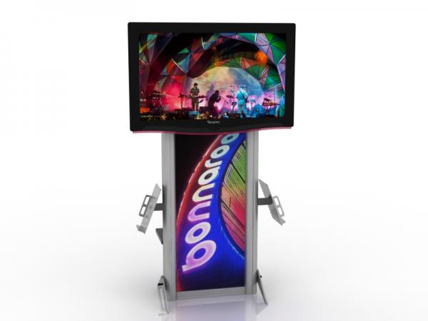 MOD-1406 Monitor Stand for Trade Shows or Events -- Image 2