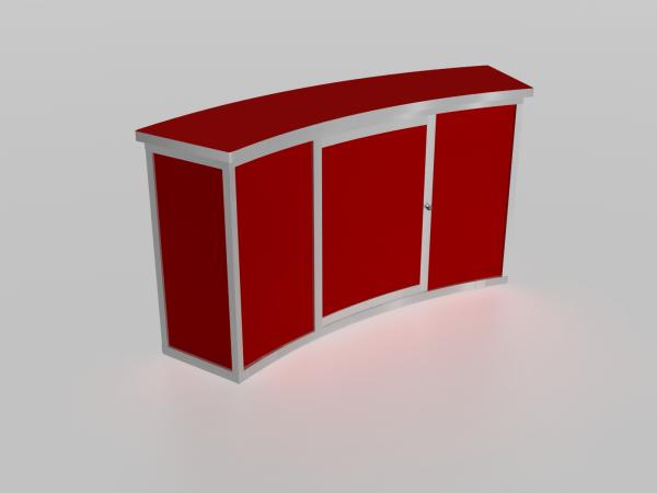 MOD-1185 Tradeshow Counter with Storage -- Image 4