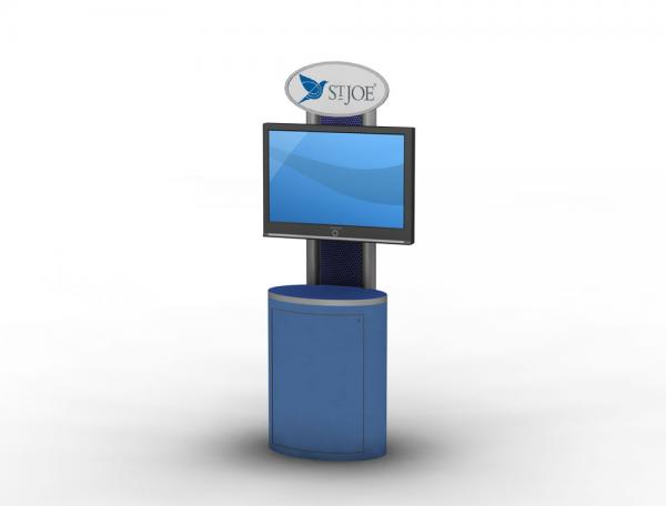 MOD-1204 Trade Show Workstation or Kiosk
