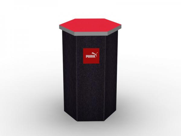 DI-646 Trade Show Pedestal -- Fabric Folding Panel Design -- Image 2