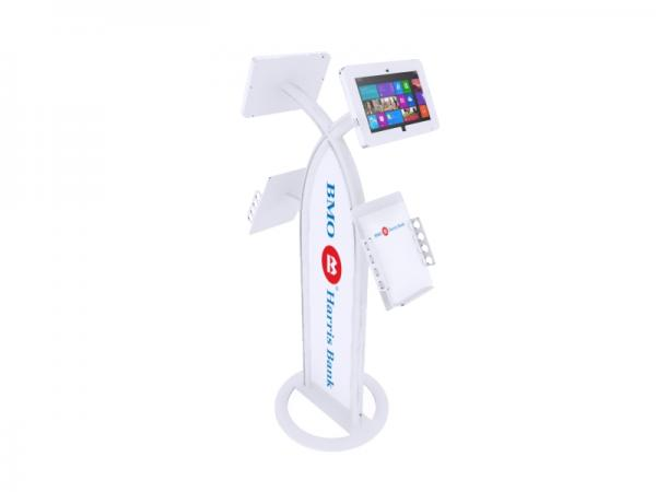 MOD-1355M Portable Surface 2 Kiosk -- White