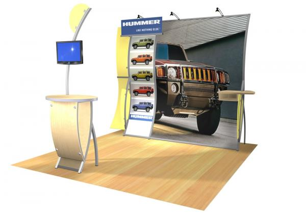 Perfect 10 VK-1508 Portable Hybrid Trade Show Display -- Image 2