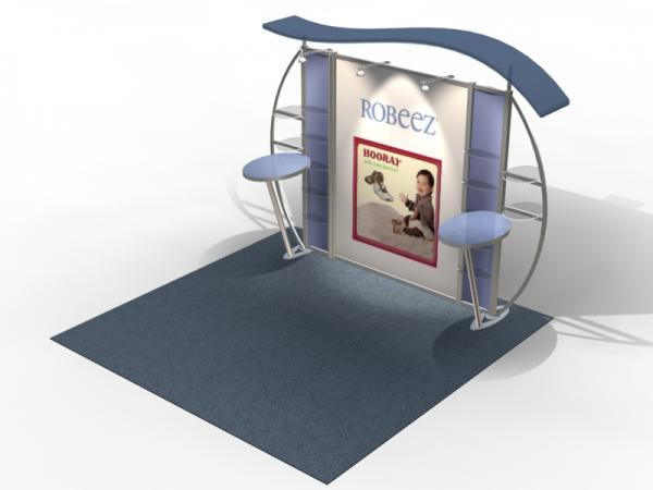 VK-1312 Trade Show Exhibit with Silicone Edge Graphics (SEG) -- Image 4