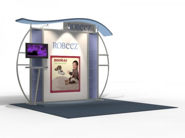 VK-1313 Trade Show Exhibit with Silicone Edge Graphics (SEG) -- Image 2