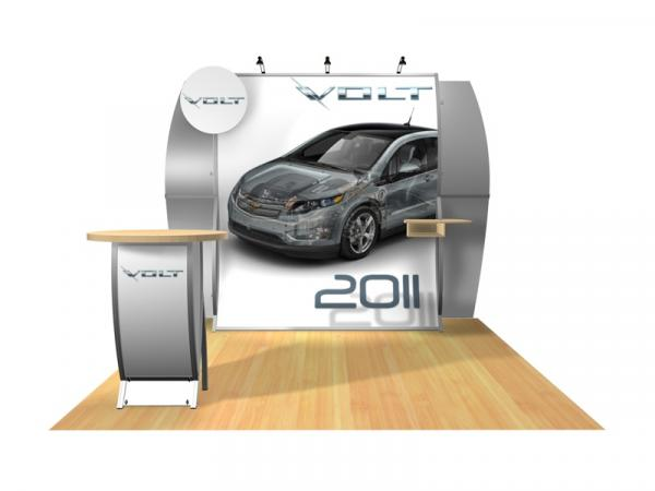 Perfect 10 VK-1512 Portable Hybrid Trade Show Display -- Image 2
