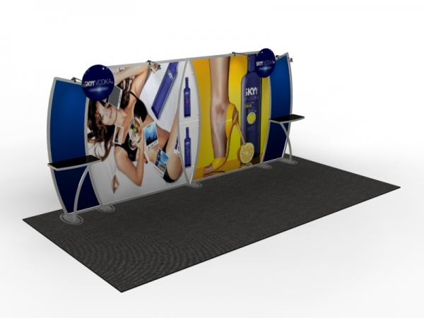 VK-2907 Trade Show Display -- 10 x 20