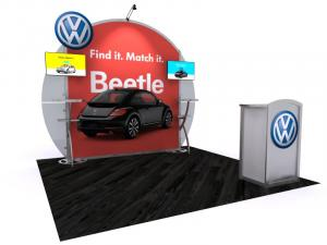 VK-1122 Portable Hybrid Trade Show Exhibit -- Image 1