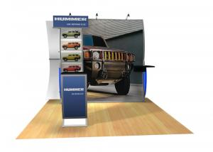 Perfect 10 VK-1508 Portable Hybrid Trade Show Display -- Image 3