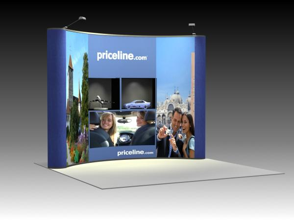 QD-122 Trade Show Pop-up Display -- Image 1