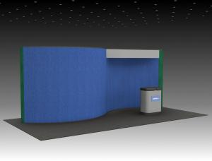 QD-205 Trade Show Pop-up Exhibit