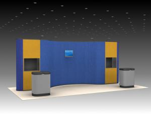 QD-219 Tradeshow Pop Up Exhibit