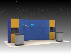 QD-221 Tradeshow Pop Up Exhibit