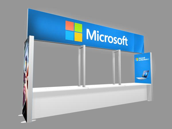 RE-1582 Trade Show Lightbox Brilliance Bar B -- Image 1