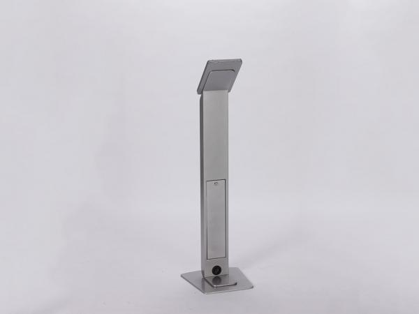 RE-1237 iPad Kiosk / MOD-1312 Silver -- Image 2