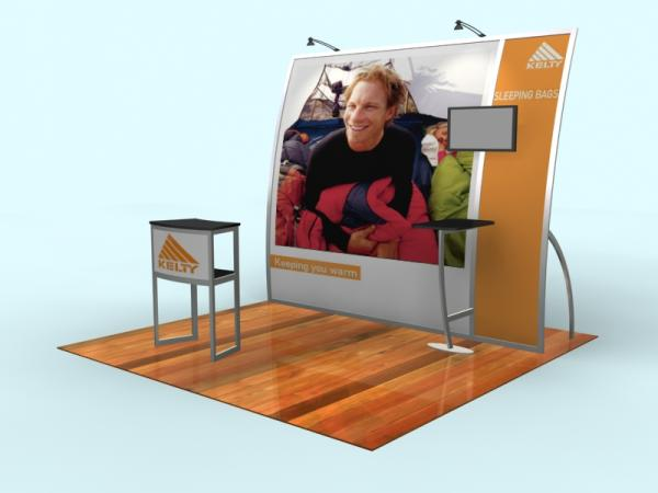 VK-1065 Portable Trade Show Exhibit