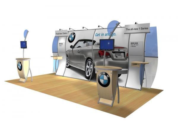 VK-1802 Portable Hybrid Trade Show Exhibit