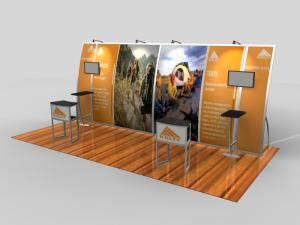 VK-2094 Magellan Miracle Portable Trade Show Exhibit -- Image 1