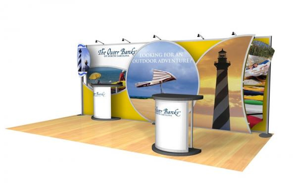VK-2050 Trade Show Exhibit -- Image 1